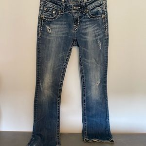 Miss Me distressed bootcut jeans 28